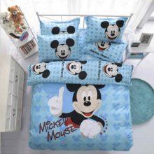 mickey mouse kids bedding set