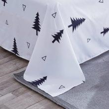 Geometric Patterned Bedding Set - Black & White