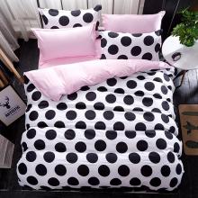 pink-polka-dots-bed-set