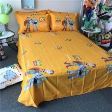 disney Toy Story comforter beddings set full twin queen king size quilt cover 100% cotton Buzz Lightyear boy gift flat sheet kid