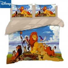The Lion King Bedding Set King Size Quilt Duvet Covers For Kids Bedroom Decor Queen Bed Linens Twin Home Textile Children's Room