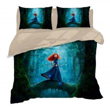 3D Disney Bedding Twin Size Cinderella Princess Quilt Duvet Covers Set for Girls Bedroom Decor Queen Coverlets King Home Textile