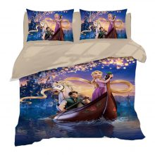 Beauty and the Beast Bedding set Twin Size Belle Princess Quilt Duvet Covers for Girls Bedroom Decor Queen Bed Linens King Kids