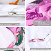 BeddingOutlet Dreamcatcher Bedding Set Floral Chic Duvet Cover Bohemian Spring Spirit Bedclothes Pink Girls Home Textiles 3pcs