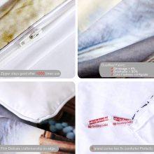 BeddingOutlet Dreamcatcher Bedding Set Queen 3D Wolf Printed Duvet Cover Wolves Bedclothes 3pcs Feathers Tribal Home Textiles