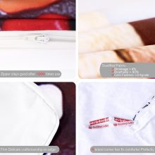 BeddingOutlet 3D Printed Dog Bedding Set Sweet Donut Duvet Cover Set for Kids Adult Home Textiles 3pcs Colorful Candy Bedclothes