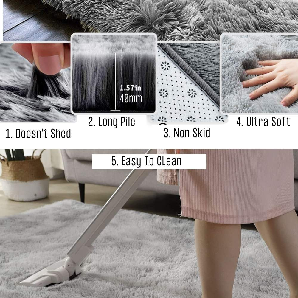buy furry floor rugs online