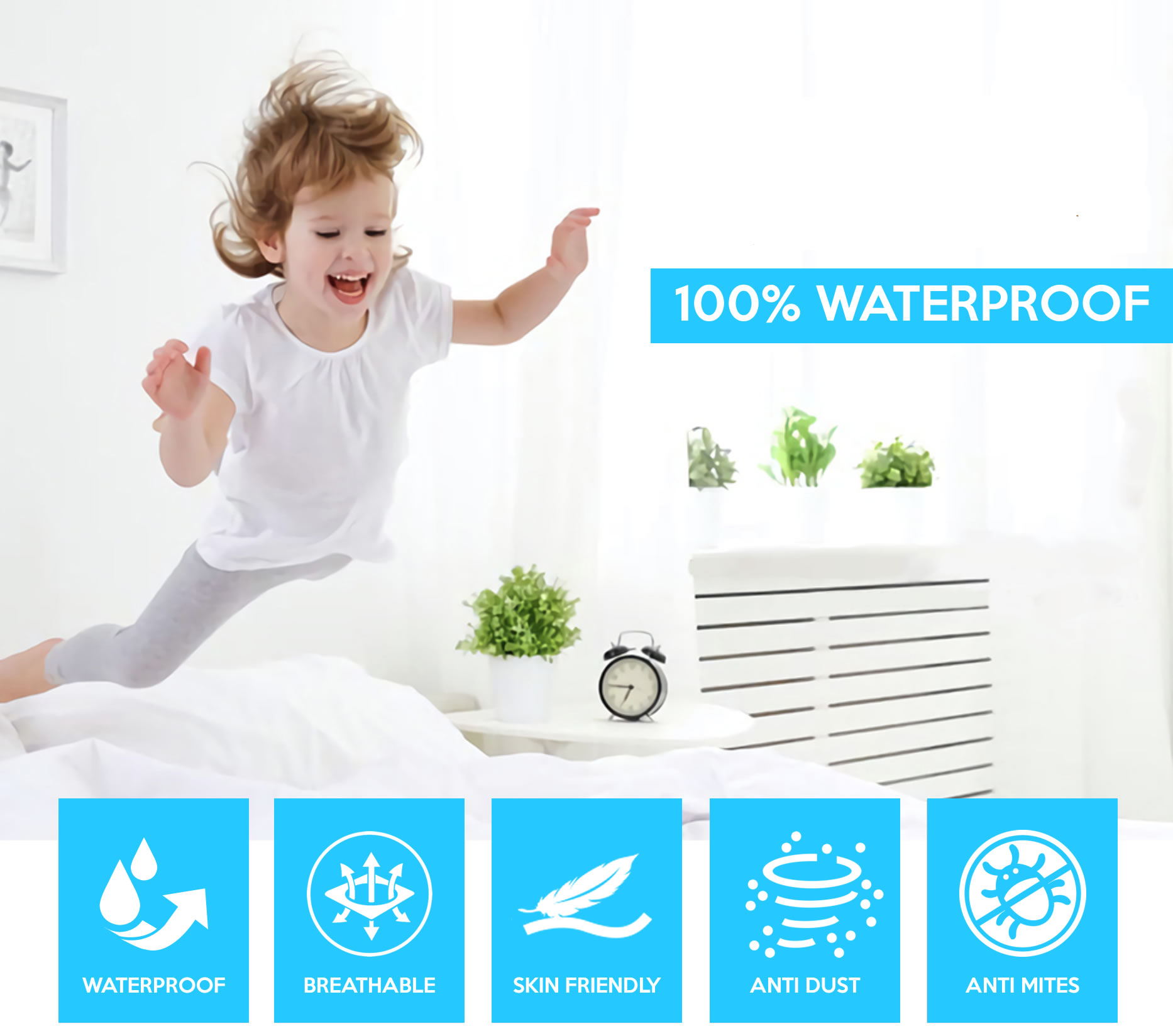 where to buy best waterproof mattress protector online