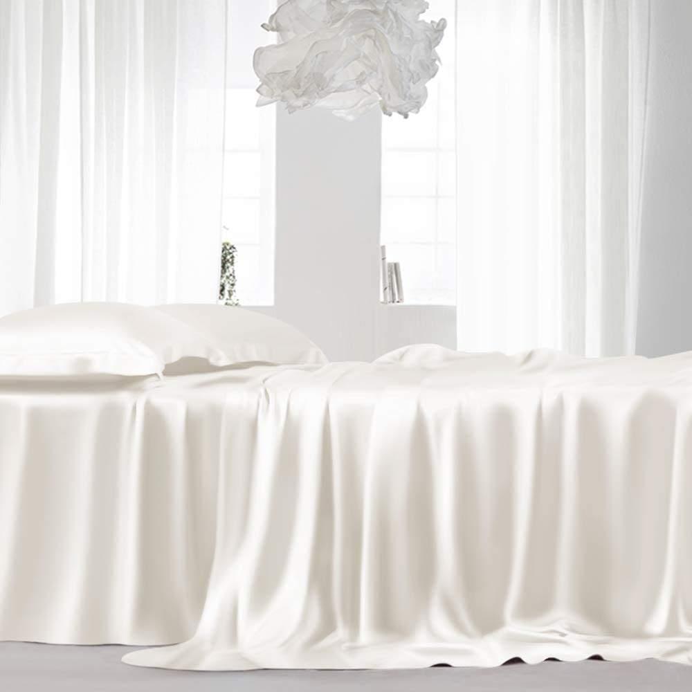 buy ivory luxury bed sheet
