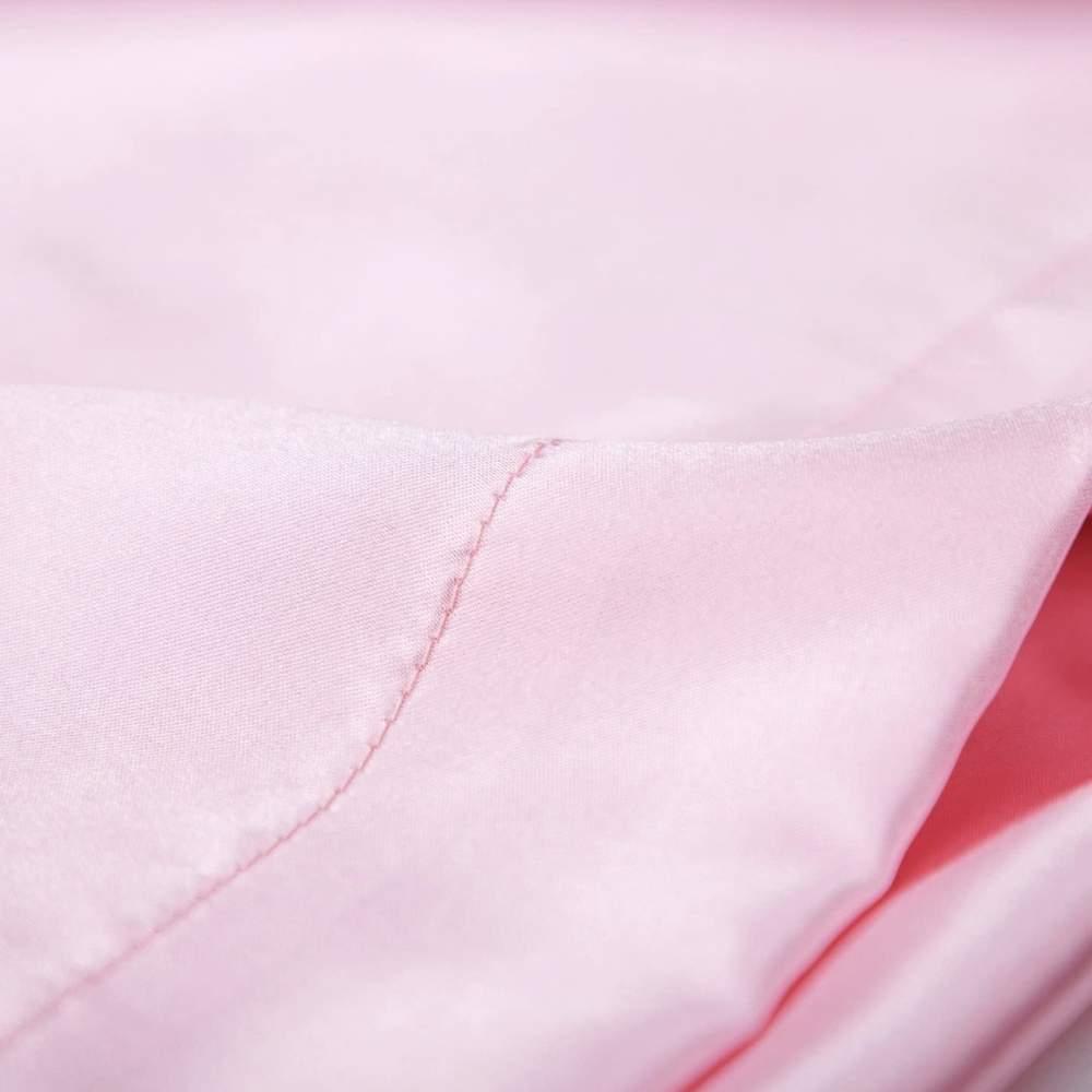 buy pink sateen pillow slip