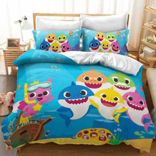 buy baby shark bedding set online