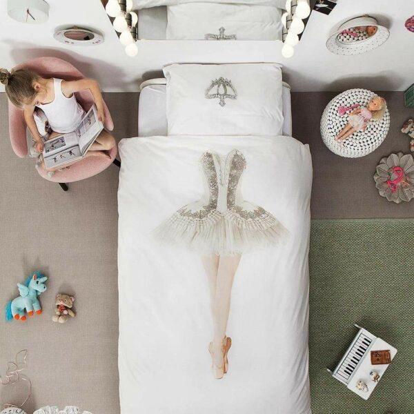 buy kids ballerina bed set