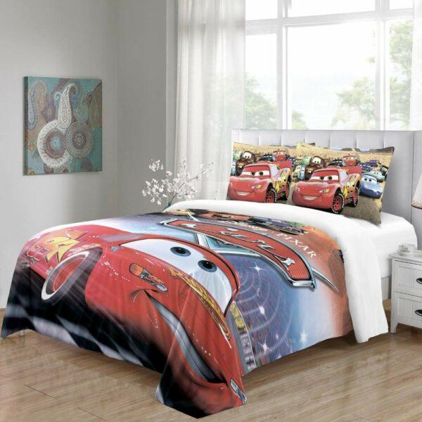 buy lightning mcqueen bed linen online
